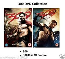 300 PART 1 AND 2 RISE OF EMPIRE Movie Film Collection Gerard Butler New UK R2