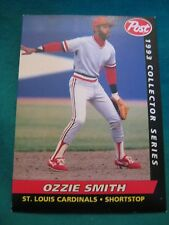 1993 Post #26-Ozzie Smith-St. Louis Cardinals-Hall of Famer
