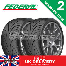 2x NEW 215 45 17 FEDERAL 595-RSR 87W TRACK/RACE/ROAD TYRE 215/45R17 (2 TYRES)