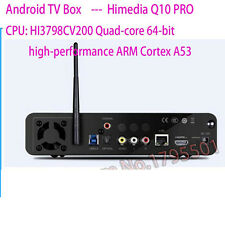 HiMedia Q10 PRO Android UHD Media Player Quad-Core 4K TV BOX HEVC H.265+Remote