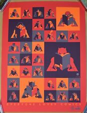 TOM WHALEN Everyone Loves Comics Poster PRINT 18x24 S/N /120 Daredevil BATMAN