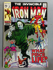 THE INVINCIBLE IRON MAN (1969) 19  CAPTAIN AMERICA MADAME MASK ARCHIE GOODWIN