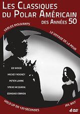 Coffret 4 DVD - Les Classiques du Polar Américain des années 50