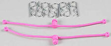 Du-Bro 2251 Body Klip Retainers w/Body Clips (Pink)