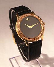 Movado Mens Diamond Watch Sapphire Chrystal