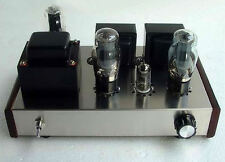 SINGLE ENDED STEREO 7 Watt Amplificatore Audio DELLA VALVOLA KIT 6p3p Inc Telaio Amplificatore