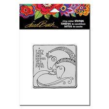 LAUREL BURCH RUBBER STAMPS CLING AQUATIC HORSES NEW cling STAMP