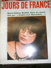 Jours de France N° 1107 1976 Marie Hélène Breillat Mode devernois Mode enfant