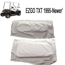 EZGO TXT-Medalist 1995-2013 Golf Cart WHITE Seat Cover Set 71753-G01, 71602-G01