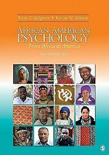 African American Psychology: From Africa to America by Belgrave, Faye Z. (Zolli