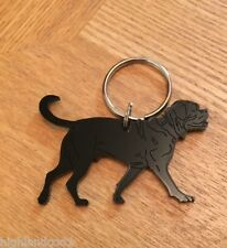 Dogue de Bordeaux Dog Keyring/Bag Charm
