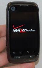 Motorola WX445 Citrus Android Cell Phone Verizon BLACK Touch Screen & Camera -B-