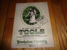 1974 Brookstone Hard to Find Tools Catalog Vintage