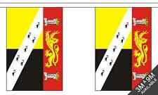 Norfolk Crest British County 6 metre long, 20 flag bunting