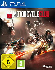 Motorcycle Club (Sony PlayStation 4, 2014, DVD-Box)