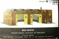 SQ34   SUPERQUICK BUS DEPOT or AIRCRAFT HANGAR  B34   KIT