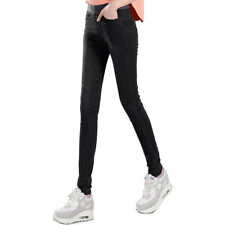NEW WOMEN/LADIES High Waist FASHION SKINNY DENIM LEGGINGS JEANS/JEGGINGS 6-18