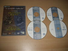 BALDUR'S GATE 1 & + Tales Of The Sword Coast Add-On Expansion Pack Pc Cd Rom