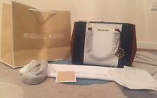 BNWT Michael Kors Medium Tricolor Saffiano Leather Sutton Bag Satchel