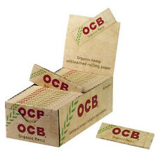 50  booklets /1 box / x OCB ORGANIC SINGLE  69mm Finest Quality Rolling Papers