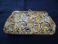 Women's Girl's Smiley Faces Small Coin Bag Purse Brand New Great Gift Very Cute