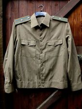Original USSR KGB Officer Major Rank Uniform Shirt Size 42. UK 16.5