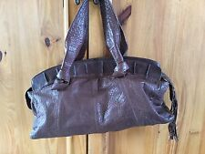 M & S Limited Collection Genuine Brown Leather Bag
