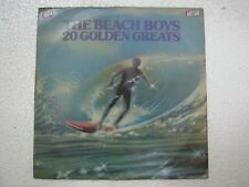 THE BEACH BOYS 20 GOLDEN GREATS  RARE LP RECORD vinyl 1975 INDIA INDIAN VG+