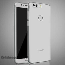 Huawei Honor 8 Case, Ultra-Thin [Crystal Clear] Premium transparent Cover Skin