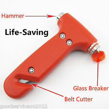 Car Window Breaker Emergency Life-Saving Hammer Seatbelt Cutter Tool For Lincoln