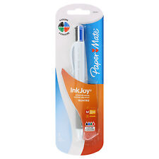 Paper Mate InkJoy Quatro Retractable Medium Point Pen, Black/Blue/Red/Green Ink