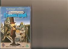 PROFESSOR LAYTON AND THE ETERNAL DIVA DVD MANGA