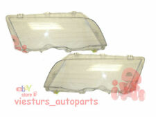 BMW 3 Series E46  1998-2001  Headlight Lens LEFT and RIGHT Saloon/Estate