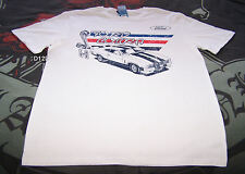 Ford Falcon XC Cobra Mens White Printed Short Sleeve T Shirt Size M New