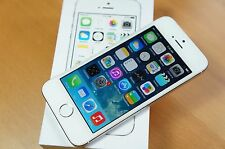 NEW Factory Unlocked Apple iPhone 5S 16GB GSM 4G LTE Smartphone White Silver