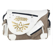 Legend of Zelda Triforce Canvas Messenger Bag Shoulder Bag Satchel Tote School
