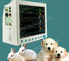 Controllo veterinario paziente NIBP SPO2 PR TEMP RESP ECG patient monitor VET