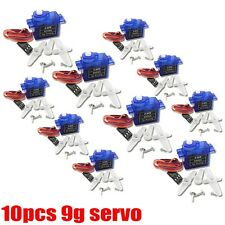 10pcs rc Servo micro 9g for SG90 trex RC Helicopter Airplane Foamy Plane Car I