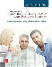 McGraw-Hill's Taxation of Individuals and Business Entities 2016 Spilker Hardcov