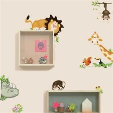 Jungle Animal-themed Kids Baby Nursery Child Art Decor Mural Wall Sticker Decal
