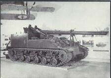 Postcard M40 tank British Imperial War museum WW1