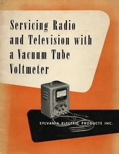Servicing Radio and TV with A VTVM - Sylvania - Vintage Electronics - CD