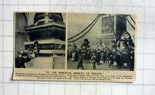 1919 Nelson Day Celebrated In London, Lady Fremantle