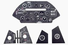 F4U-5 CORSAIR 3D, PE, COLORED INSTRUMENT PANEL TO HASEGAWA, ETC #4849 1/48 YAHU