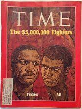 Time Magazine March 8 1971 Ali Vrs Frazier
