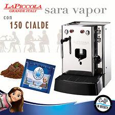 MACCHINA DA CAFFE A CIALDE La Piccola SARA VAPOR con BORBONE