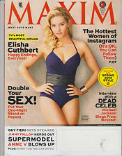 Maxim March 2013,Elisha Cuthbert,The Hottest Women Of Instagram,Double Your SEX!