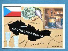 LA TERRA - Panini 1966 - Figurina-Sticker n. 149 - CECOSLOVACCHIA -Rec