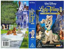 DISNEY -  LADY AND THE TRAMP 2: SCAMP'S ADVENTURE  *RARE VHS TAPE*