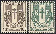 France 1945 Liberation/WWII/Second World War/Coat-of-Arms/Shield/Chain 2v n45277